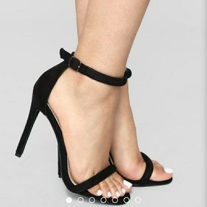 Make you a believer Heel-black